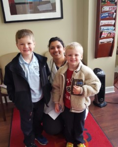 Jacob and Ben Lashuk, Kids at Westgate Dental in the Cavity Free Club