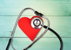 Heart and Stethoscope for Heart Month